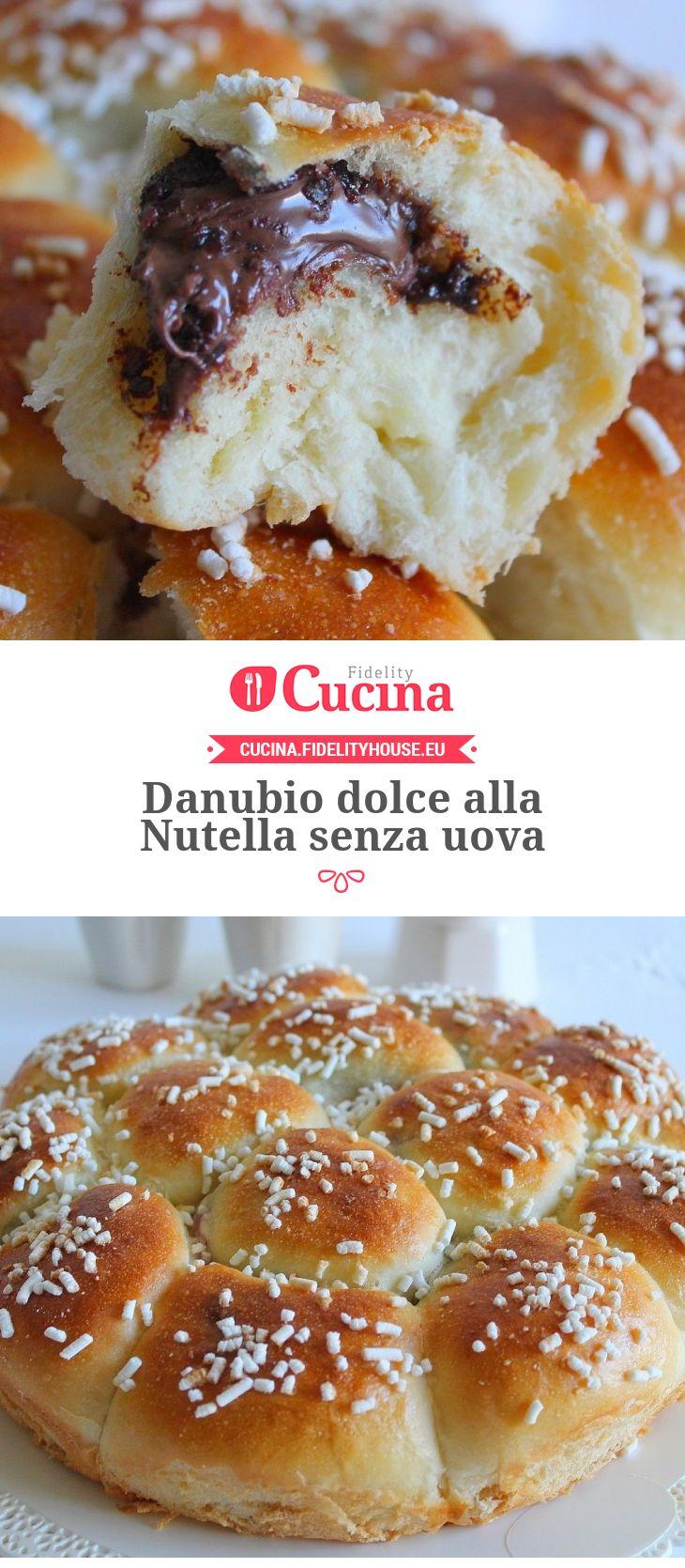 Danubio dolce alla #Nutella senza uova della nostra utente Giovanna. Unisciti alla nostra Community ed invia le tue ricette!