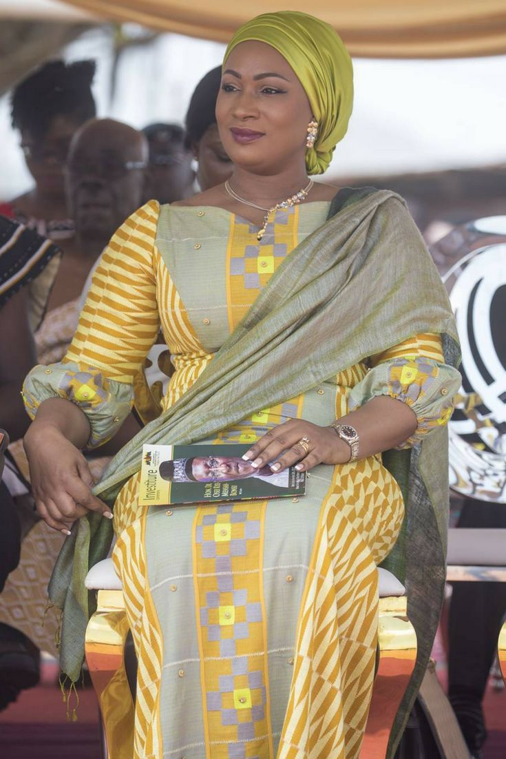 Samira Bawumia in Kumasi Suame, African fashion, Ankara, kitenge, African women dresses, African prints, African men's fashion, Nigerian style, Ghanaian fashion, ntoma, kente styles, African fashion dresses