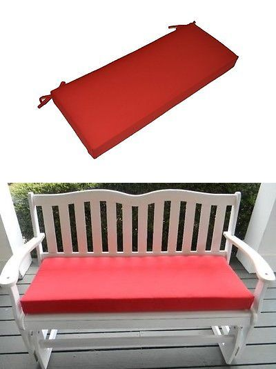 Patio Furniture Cushions And Pads 79683 In Outdoor Red Cushion For