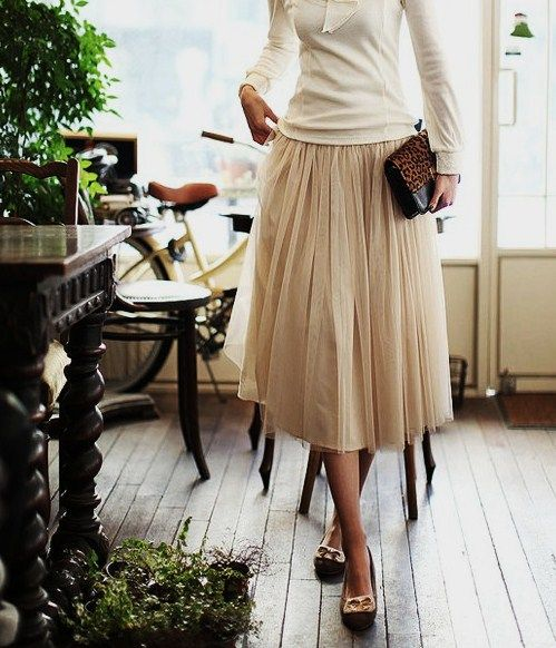 : Fashion, Tulle Skirts, Style, Clothes, Dress, Wear