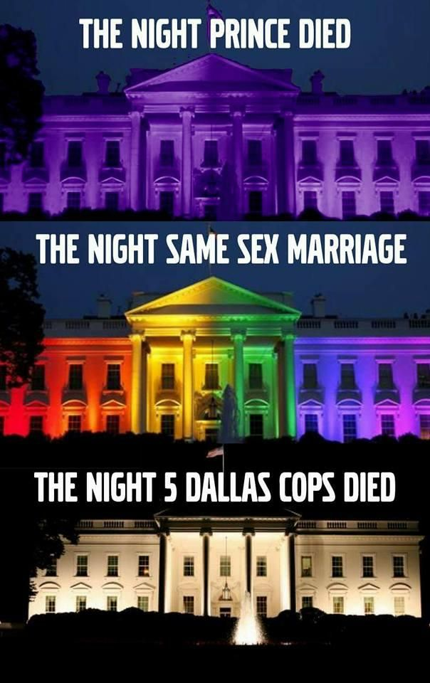 President Obama loves picking-and-choosing what Americans he will support. He celebrated when homosexuals successfully accomplished their adulteration of the definition of marriage by illuminating the White House in rainbow colors-