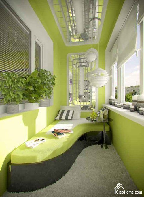 Изящное решение для балкона и лоджии