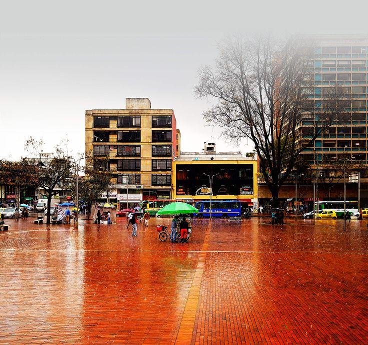 Plaza de Lourdes, Bogotá, Colombia, Sudamérica.
