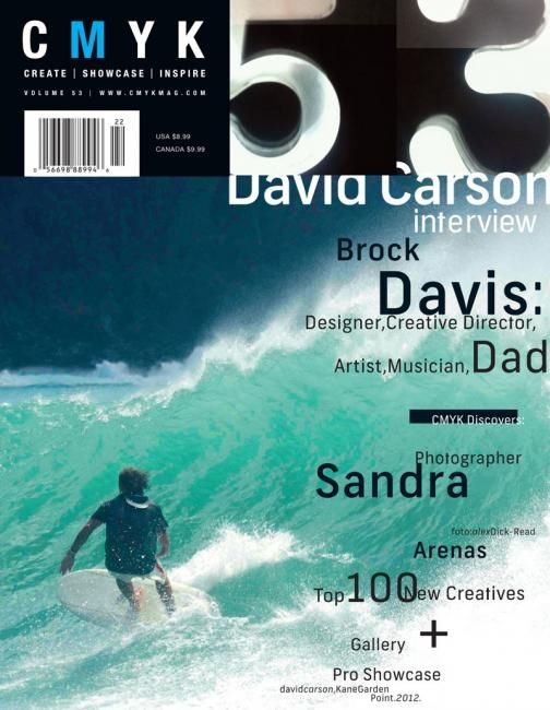 David Carson / CMYK