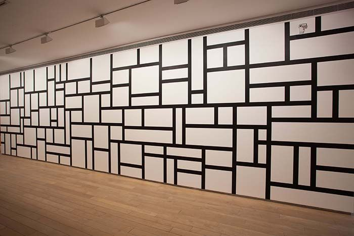Les Wall Drawings de Sol LeWitt © Yale University Art Gallery, Newhaven, CT. Gift of the artist