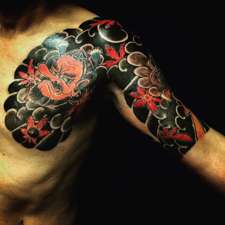Top Free Oni Irezumi Backgrounds: 50 Best Full Sleeve Ideas Images On Pinterest