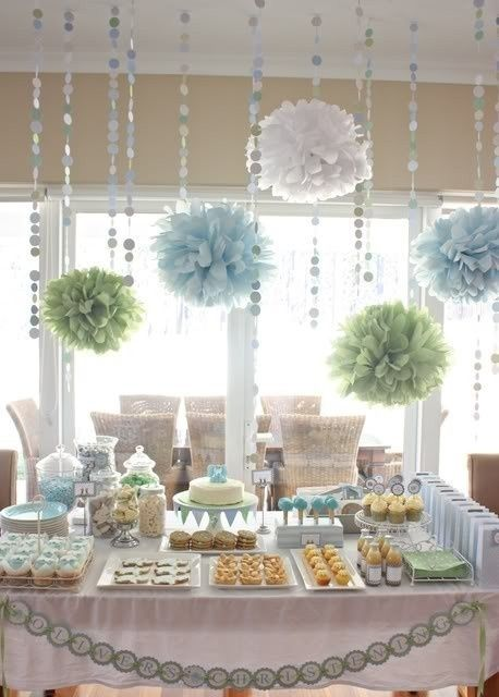 Blog My Little Party - Ideas e Inspiración para Fiestas: Inspírate con Pompones de Papel