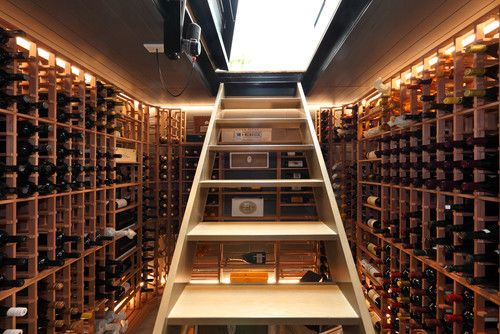 One day I would love to build this in our basement!  Organize your wine!