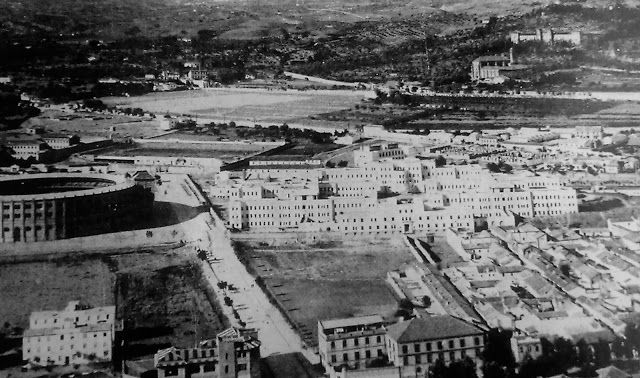 Plaza de Toros, Avda. Doctor Olóriz, San Lázaro, Hospital Clínico y convento y ermita de San Juan de Letrán.