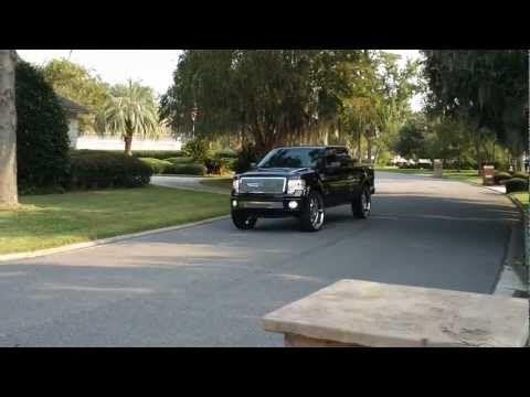"2011 Ford Harley-Davidson F150 ON 30"" Forgiatos pullin in- HD - YouTube"