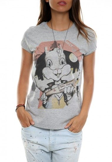 hool bunny gray #vagrancylifestyle #handmade #tshirt #woman
