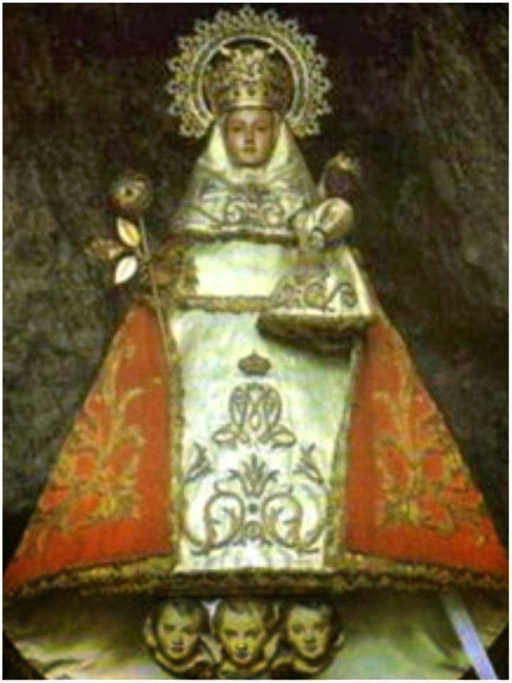 A La Virgen De Covadonga Para Protección Y Peticiones Oraciones A La Virgen Maria Virgen De Covadonga Divina Infantita Producción Artística