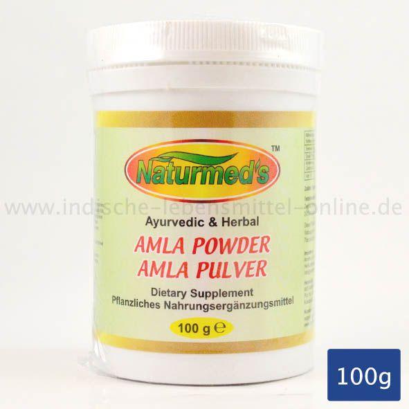 Amla-Pulver, Indisches Ayurvedisches Produkt, Amla Powder, Amritha Naturmeds, 100g