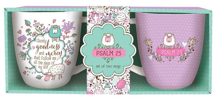 Inspirational Mug Set Psalm 23
