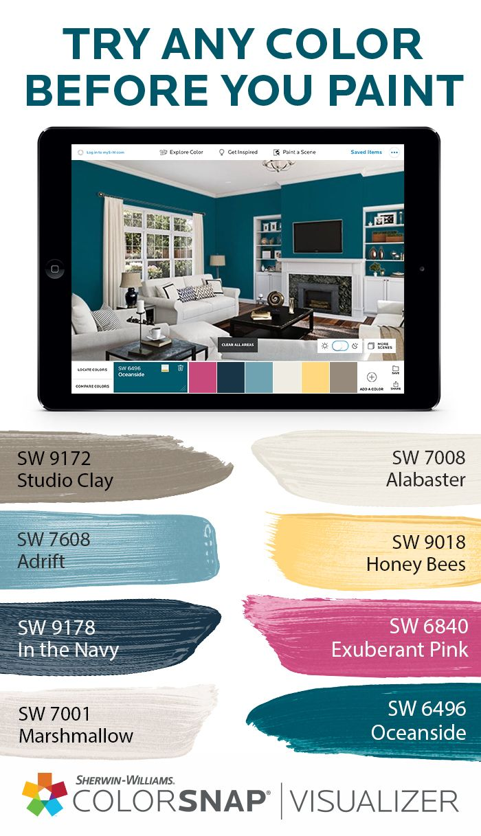 Ready To Tackle That Living Room Paint Project Snap A Photo Upload It To Sherwin Williams Color Palette Sherwin Williams Colors Sherwin Williams Paint Colors