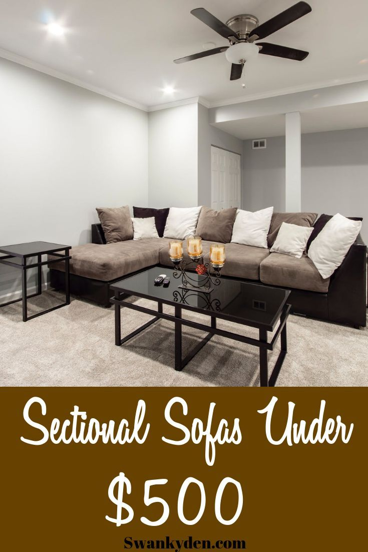 10 Cheap Sectional Sofas Under 500 You Ll Love In 2020 Swankyden Sectional Sofa Sectional Sofas Living Room Sofas For Small Spaces