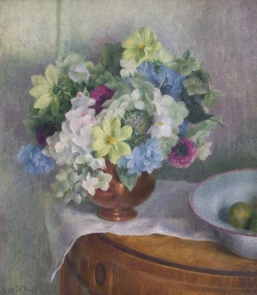 dod procter  | Autumn Flowers by Dod Procter, R.A. (1891-1972) | Museum quality art ...