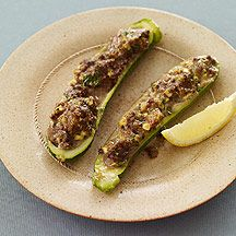 Beef-Stuffed Zucchini Recipe on Yummly. @yummly #recipe