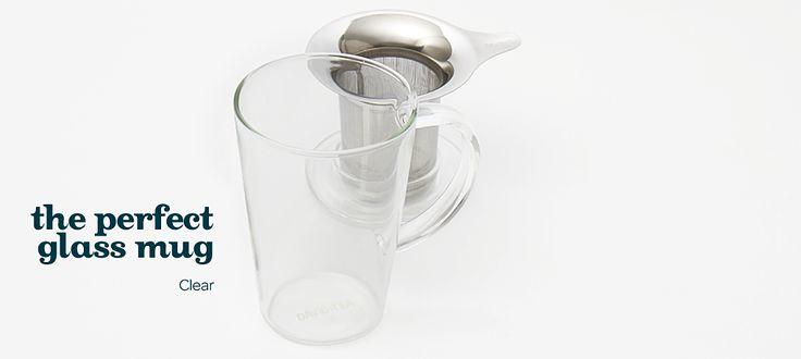 glass perfect mug by DavidsTea