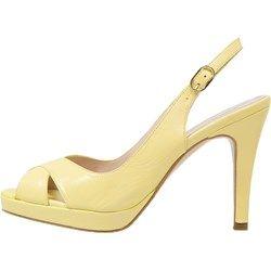 KIOMI Sandały na platformie yellow