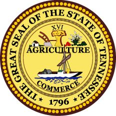 "Officially adopted in 1987, the state motto of Tennessee is ""Agriculture and Commerce"" (taken from words on the state seal of Tennessee). See State Mottos for all 50 states."