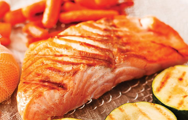 Teriyaki salmon fillet with parsnip chips and roast vegetables. Follow link for full recipe from appetite, North East England's dedicated food & drink publication.
