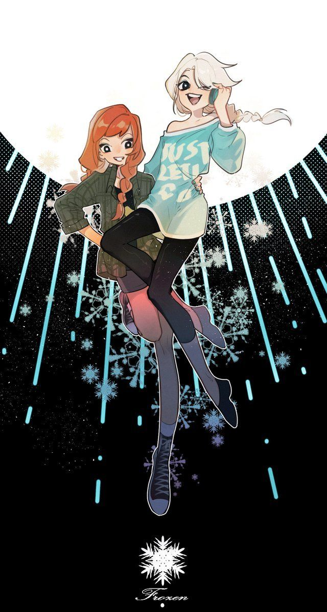 "elsannaartarchive ""Art by 明 "" Anime, Freezing anime"