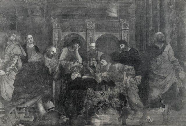 copia  Ercole de' Roberti Transito della Madonna Cappella Garganelli - perduta