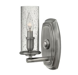 View the Hinkley Lighting 4780 1 Light Indoor Wall Sconce from the Dakota Collection at Build.com.