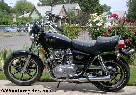1979 650 cc Yamaha