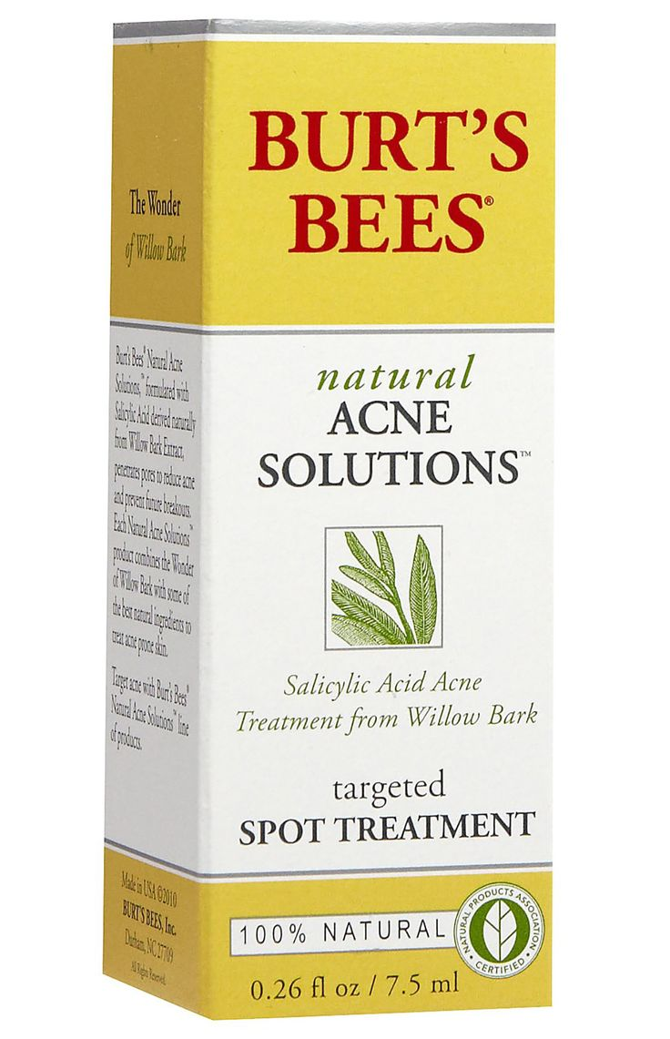 The Best Acne-Fighting Products on Drugstore Shelves - Burt's Bees Natural Acne Solutions Targeted Spot Treatment  - from InStyle.com