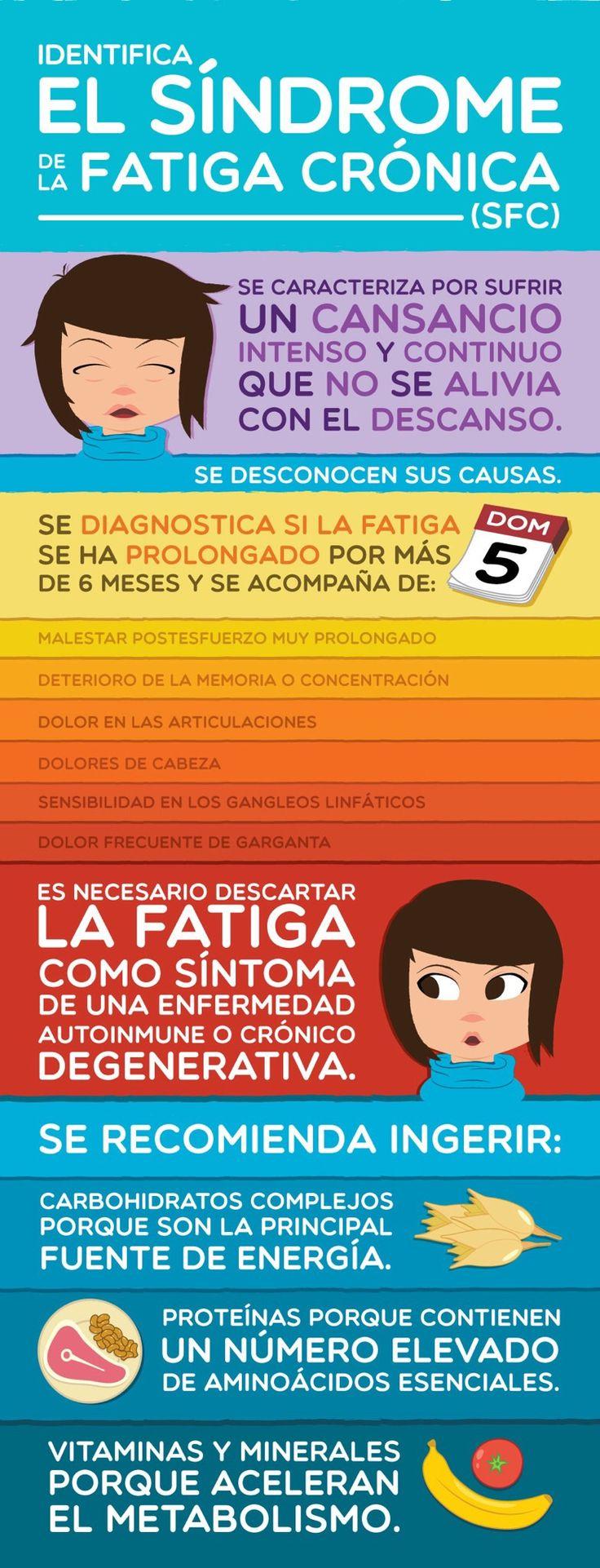 Fatiga cronica y alimentos para combatirla