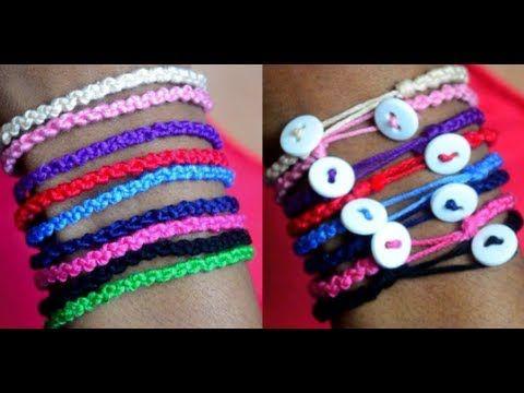 ▶ DIY Double Knot Bracelet - YouTube