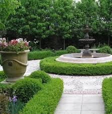 Formal garden ideas for front.