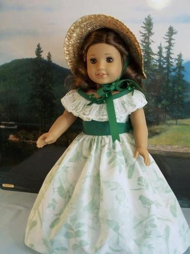 Gone w Wind Barbecue Dress Fits American Girl | eBay. Sold 4/9/13 for $51.05.