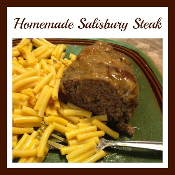 Homemade Salisbury Steak #Recipe For The Ninja Cooking System - From Val's Kitchen