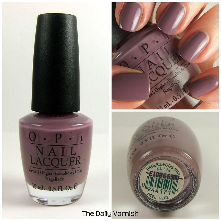 OPI Parlez-vous OPI cover