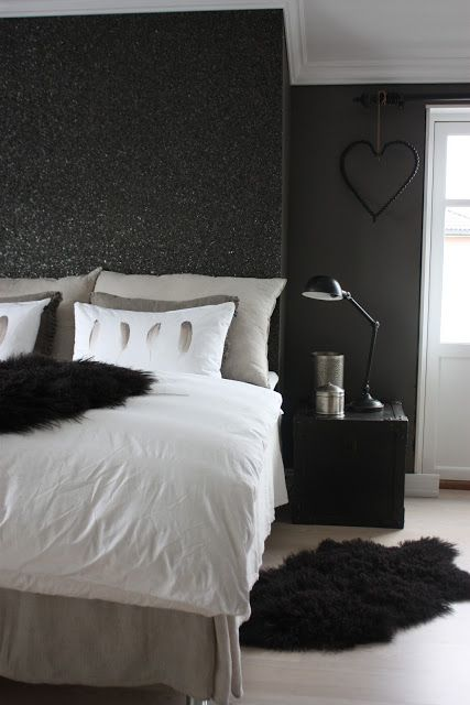 25 best ideas about glitter paint on pinterest girl - Black painted bedroom walls ...