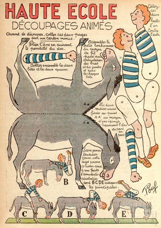 paper folding art - make your own donkey tricks??