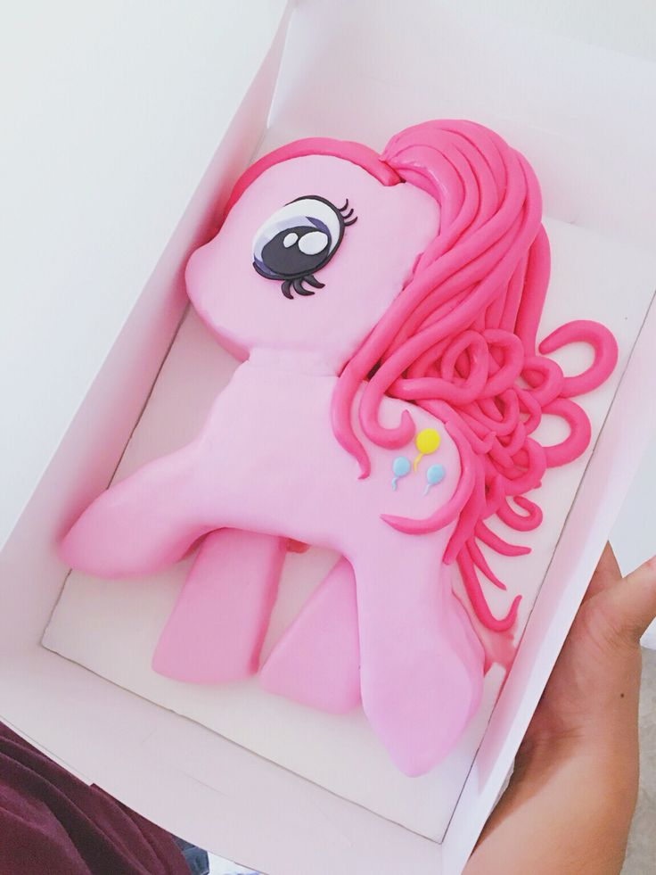 Pinky Pie Pony Birthday Cake