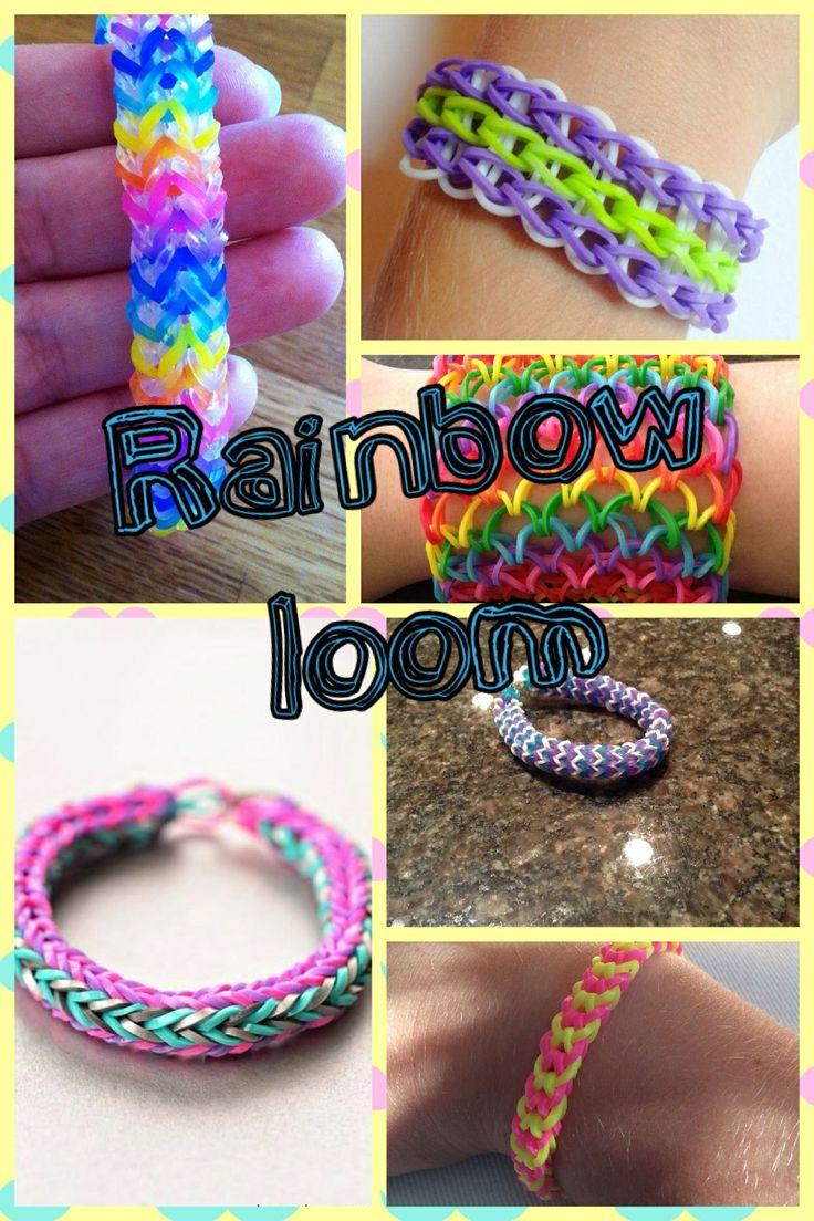 Unique Rainbow Loom Bracelets