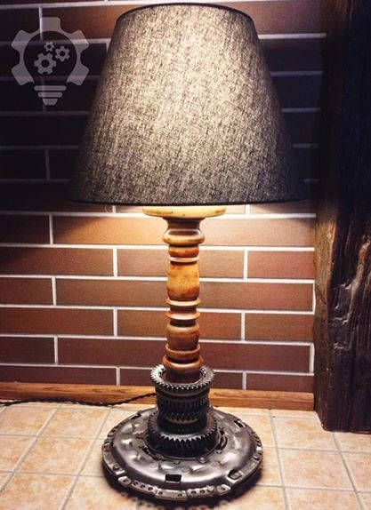 Industrial Desk Lamp. Steampunk Ligting