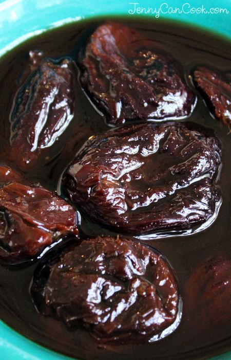 Easy Stewed Prunes recipe from Jenny Jones (JennyCanCook.com) - So simple - ready in ten minutes.