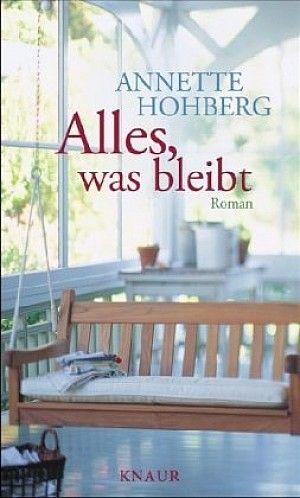 Alles, was bleibt von Annette Hohberg