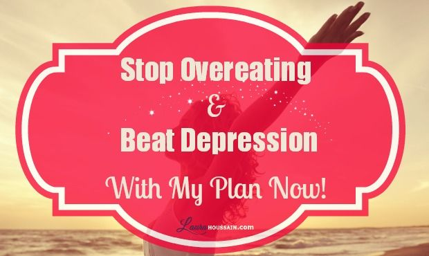 Can depression cause overeating or does sugar addiction cause depression? My reply and how to get rid of both without drugs