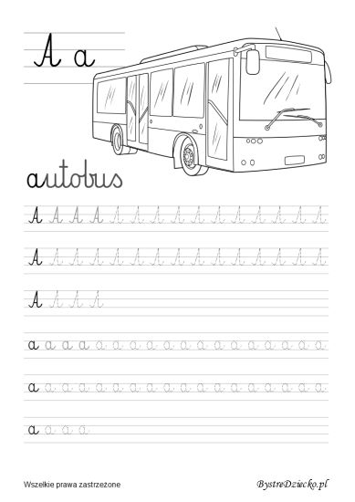 Nauka pisania dla dzieci, a pisane, pomoc w kształceniu grafomotoryki, Anna Kubczak