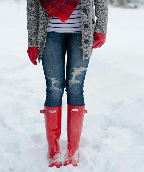 I decided i need red boots..
