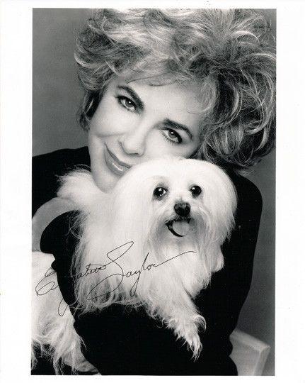 Hollywood Legend Elizabeth Taylor Autograph Hand Signed Photo