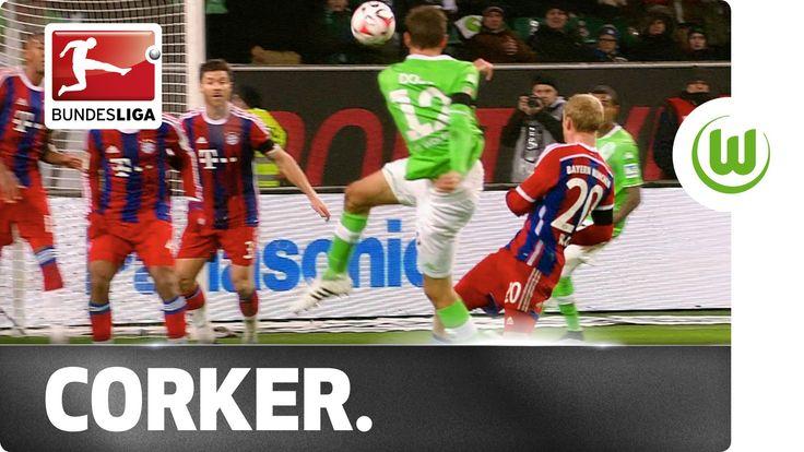 Bas Dost Beats Manuel Neuer with Wonder Strike