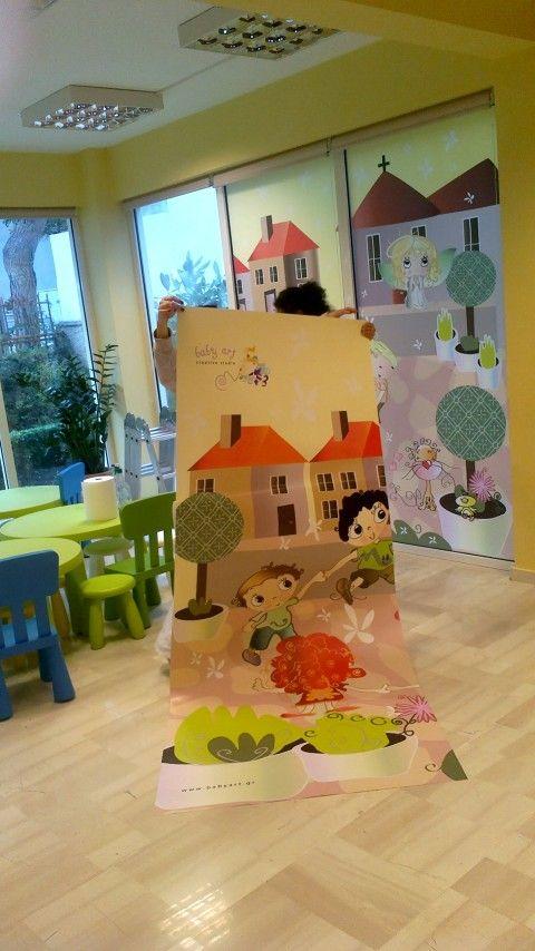 www.babyart.gr παιδική διακόσμηση τοίχου